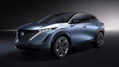 Afbeelding voor Volledig elektrische crossover van Nissan