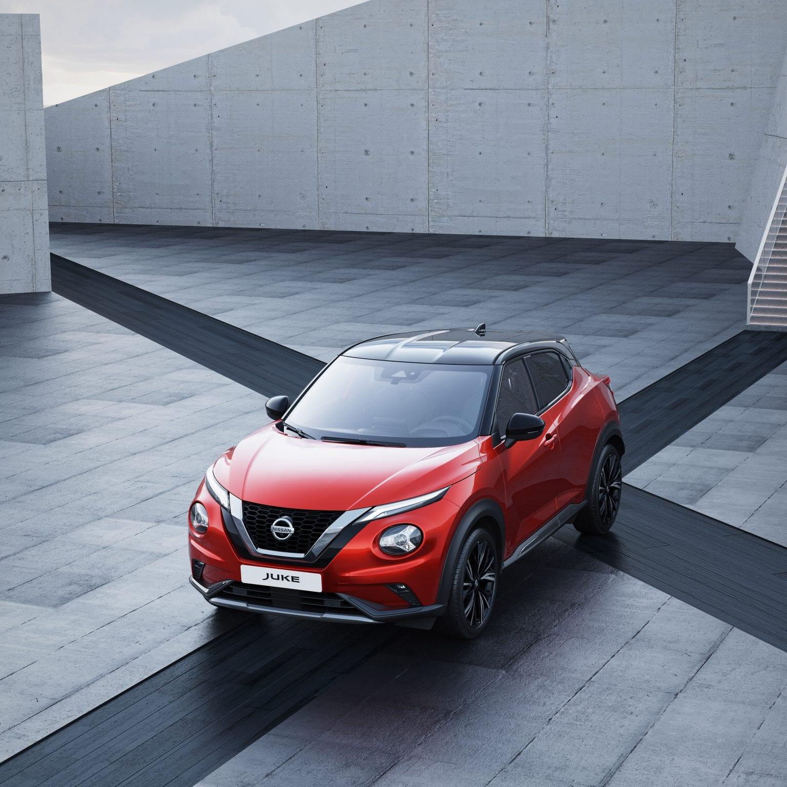 Nieuwe Nissan Juke